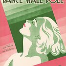DANCE HALL DOLL (vintage illustration) by ART INSPIRED BY MUSIC