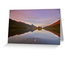 Highland Reflections Greeting Card