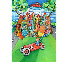 children's  car Photographic Print
