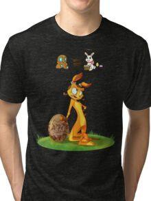 Precursors are Bunnies Tri-blend T-Shirt