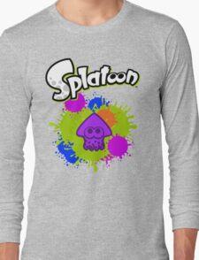Splatoon Squid - Deep Purple  Long Sleeve T-Shirt