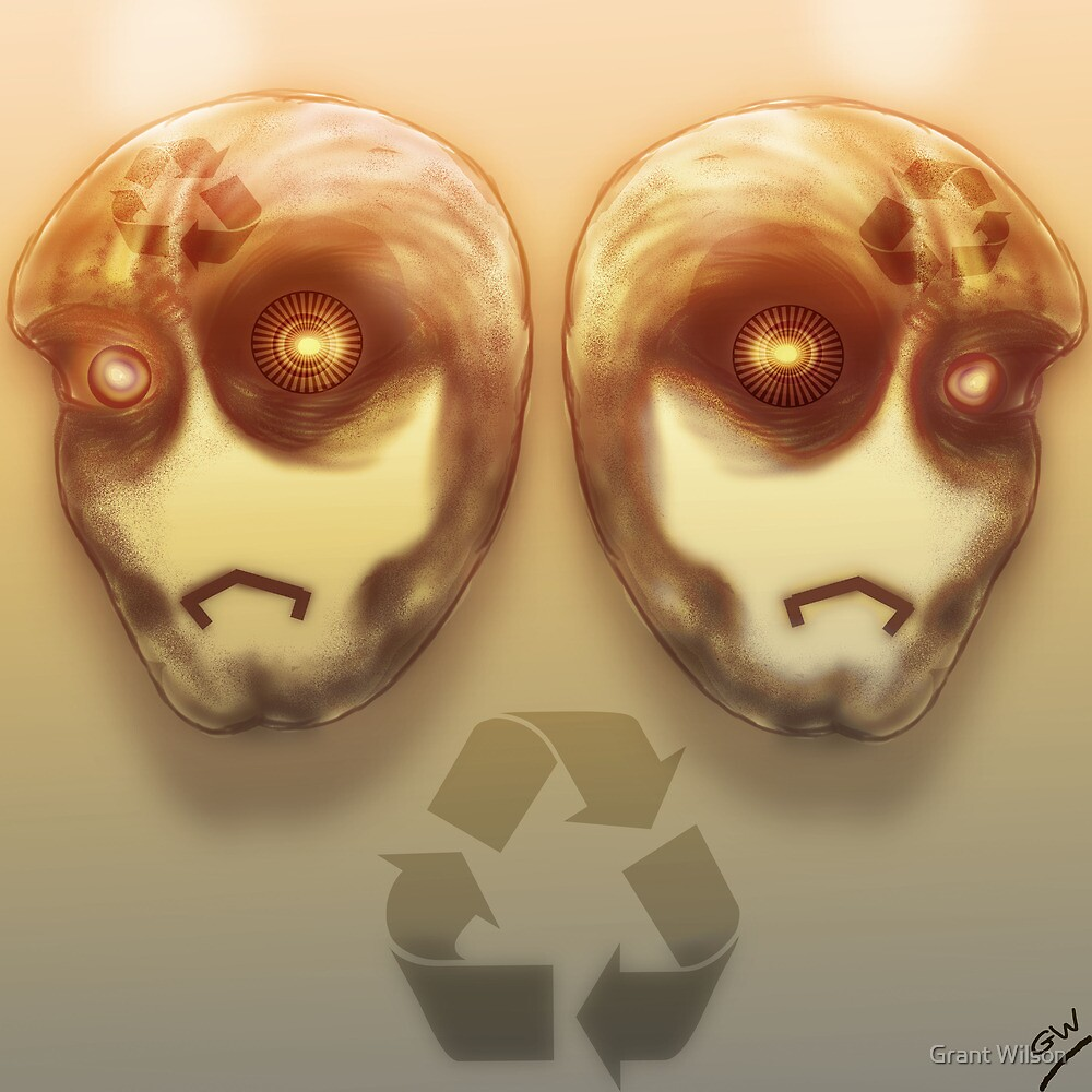 Recycle Robots by Grant Wilson