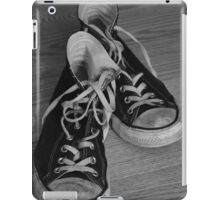 Black and White Kicks iPad Case/Skin