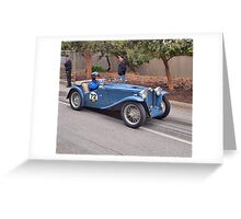 MG TC - 1946 Greeting Card