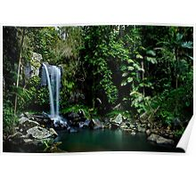 Curtis Falls, QLD Poster