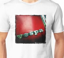 Vespa 01 RED Unisex T-Shirt