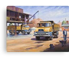 Midland Gravel Thames Traders Canvas Print