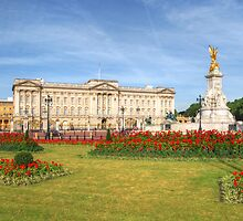 Buckingham Palace And Garden by Yhun Suarez