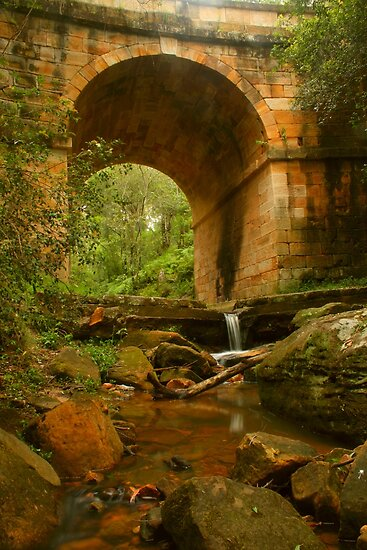 Lennox Bridge downstream by Michael Matthews