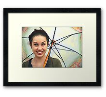 Happiness is Spring Framed Print