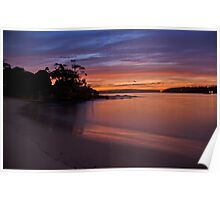 Balmoral Dawn , Balmoral, Sydney NSW Australia - The HDR Experience Poster