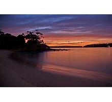 Balmoral Dawn , Balmoral, Sydney NSW Australia - The HDR Experience Photographic Print