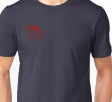 Aardvark red logo Unisex T-Shirt