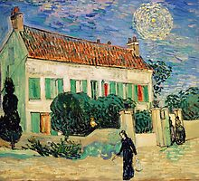 The White House at Night by Vincent van Gogh by Robert Partridge