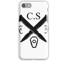 Coffin Squad Spikes iPhone Case/Skin