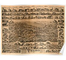 Panoramic Maps Truro Nova Scotia 1889 Poster