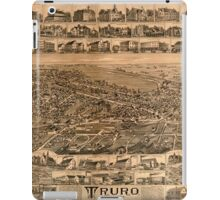 Panoramic Maps Truro Nova Scotia 1889 iPad Case/Skin