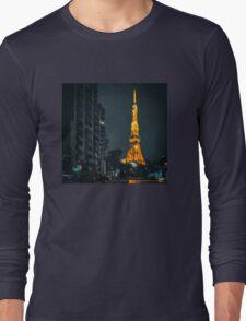 Tokyo Tower Long Sleeve T-Shirt