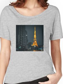 Tokyo Tower Women's Relaxed Fit T-Shirt