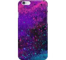 Pink, Purple and Blue Paint Splatters iPhone Case/Skin