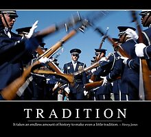 Tradition: Inspirational Quote and Motivational Poster by StocktrekImages