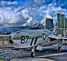 USS Midway Fighter by KRphotog