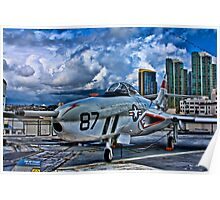 USS Midway Fighter Poster