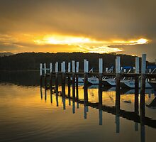 Narooma Jetty by Trevor Middleton