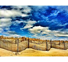 beach, dune and sky Photographic Print