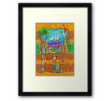 Pirates Ahoy Framed Print
