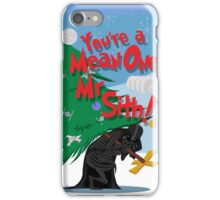 Mean One iPhone Case/Skin