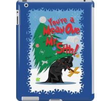 Mean One iPad Case/Skin