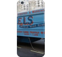 Horse drawn Abels removal lorry in Regent Street London iPhone Case/Skin