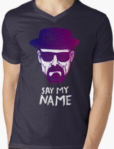 Heisenberg Say my name Mens V-Neck T-Shirt
