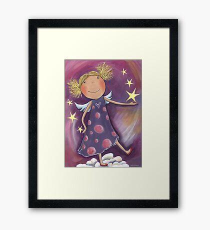 Blond Angel Framed Print