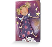 Blond Angel Greeting Card