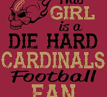 This Girl Is A Die Hard Cardinals Football Fan by sports-tees