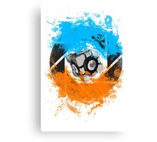 The Blue & Orange Gels Canvas Print