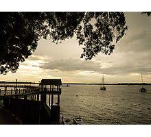 Golden sunset Photographic Print