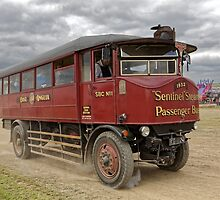 1932 Sentinel 7-ton Steam Bus 'Martha'. by Andrew Harker