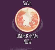 Save Undershaw Now Two Womens Fitted T-Shirt