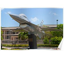 Wide Shot of FM AF 79 0326 F-16A Fighting Falcon Poster