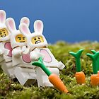 Lego Bunnies by Kevin  Poulton - aka 'Sad Old Biker'