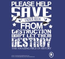 Save Undershaw Now Three by KitsuneDesigns