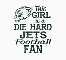 This Girl Is A Die Hard Jets Football Fan Unisex T-Shirt