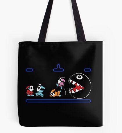 Run Shyguys, Run! Tote Bag