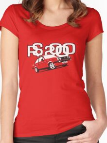 Ford RS2000 Mk2 Women's Fitted Scoop T-Shirt