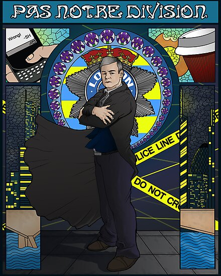 Sherlock Nouveau: Gregory Lestrade by Rebecca -