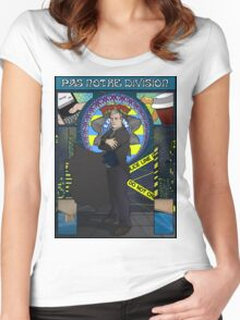 Sherlock Nouveau: Gregory Lestrade Women's Fitted Scoop T-Shirt