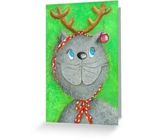 Christmas Cat :-) Greeting Card